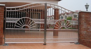 Stainless Steel Home gate