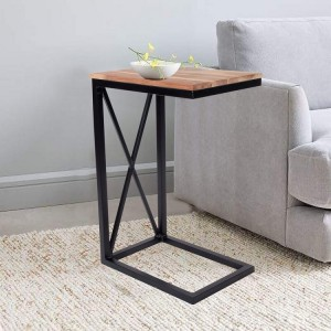 Solid Wood C Table End