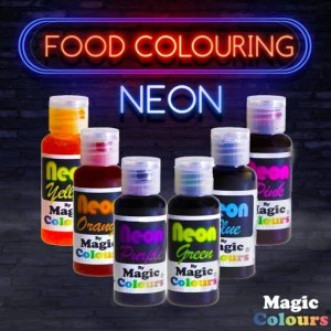 Neon Colors (Edible)