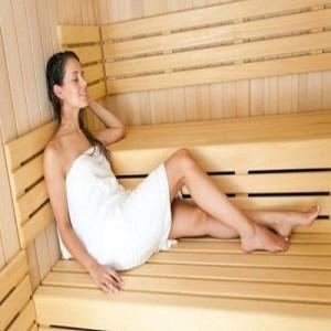 Wooden Sauna Bath Cabin