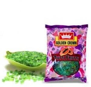 Golden Crown Green Tutti Frutti