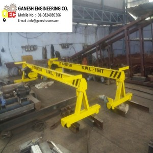 Single Girder EOT Crane with Table