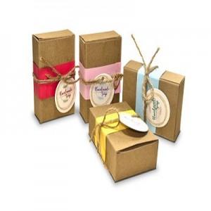 Brown Soap Packaging Box