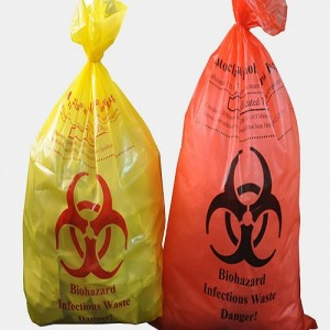 Biohazard Colored Bags