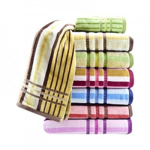 Stripped Cotton Towel
