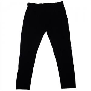 Womens Organic Black Pant