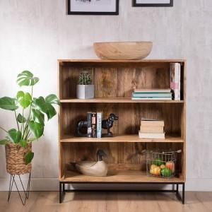 Industrial Mango Small Bookcase