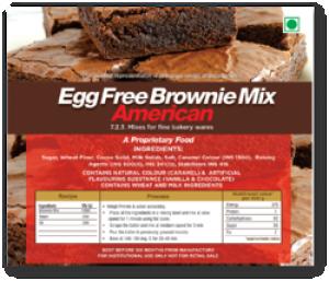 Egg Free Brownie Mix
