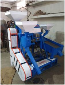 Mini Dal Machine 200 KG PER HOUR ( 90,000/-)