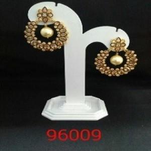 Fancy Vardhaman Polki Earrings