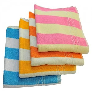 Colorful Polyester Towel