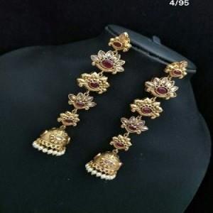 Fancy Beautiful Polki Earrings