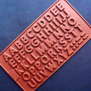 Alphabet Silicone Mould