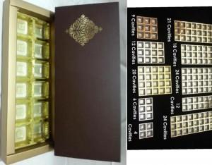 12 Cavity Chocolate Box