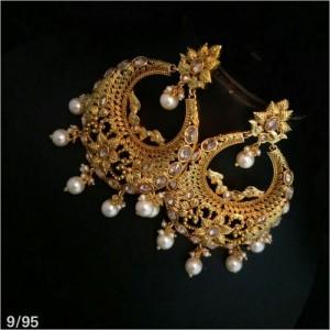 Designer Gold Earrings For Women