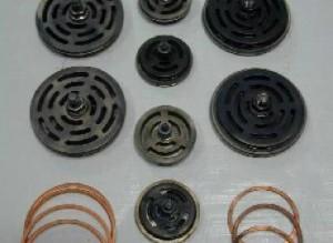Gas Compressor Valve Assembly & Copper Gaskets