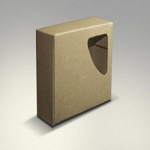 Brown Window Soap Box