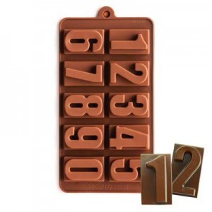 Silicone Number Mould