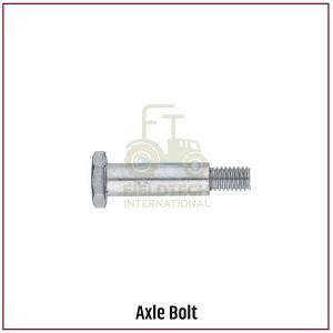 Axle Bolt