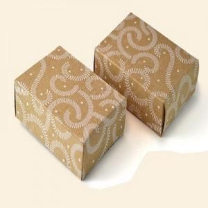 Brown Printed Packaging Box