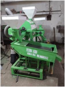 Mini Dal Machine 400 KG PER HOUR ( 1,55,000/-)