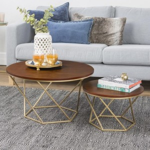Wooden Top Coffee Table