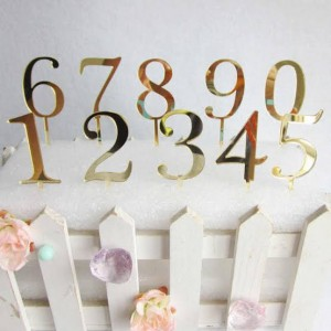 Number's Cake Topper