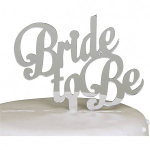 Bride To Be Silver Topper