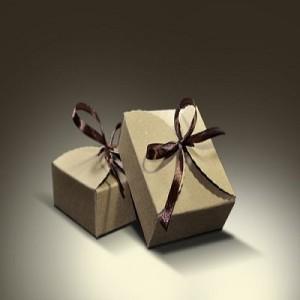 Brown Gift Packaging Box