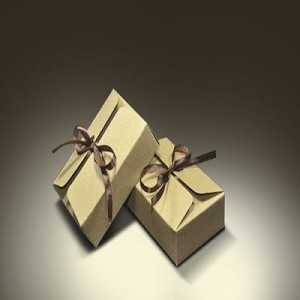 Brown Plain Gift Packaging Box