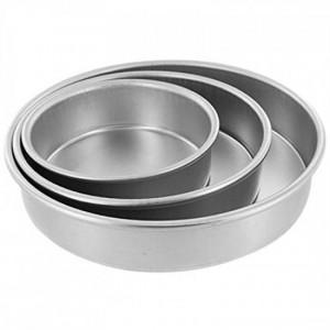 Round Tin Set [Aluminium]