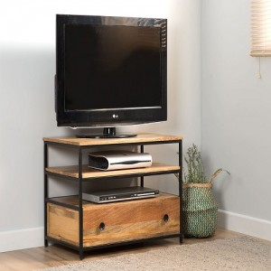 Industrial Mango And Small TV Unit