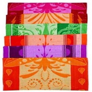 Flower Printed Cotton Towel