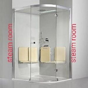 Glass Steam Bath Cabin