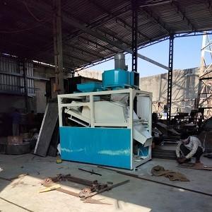 Grounder Destoner Machine