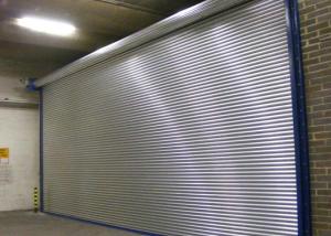 Steel shop shutters