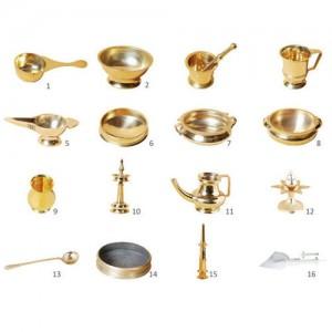 Brass Panchakarma Set