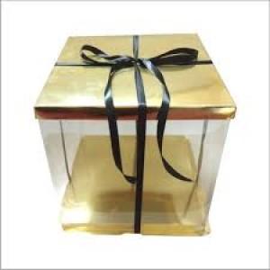 Transparent Cake Box 10″*10″