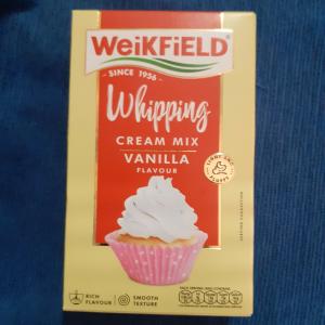 Weikfield Vanilla Flavour Whipping Cream Mix   50g