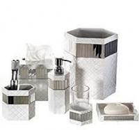 Soap Dispenser, Tissue Holder, Bathroom Mirror  Accessories